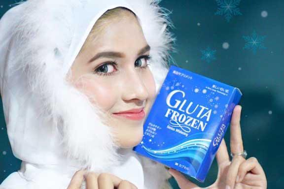 jual gluta frozen, harga gluta frozen, gluta frozen original, gluta frozen asli, manfaat gluta frozen, khasiat gluta frozen